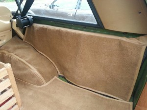 Bekleding Range Rover Classic 3,5L V8