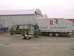 Deze foto is genomen bij de plaatwerkafdeling/ schadeafdeling in Asperen