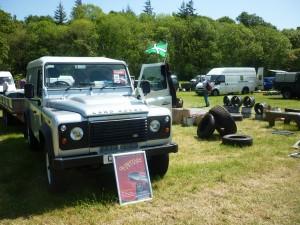 Old Sodbury Land Rover Sortout Beaulieu 2014.