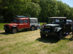 Old Sodbury Land Rover Sortout Beaulieu 2014.