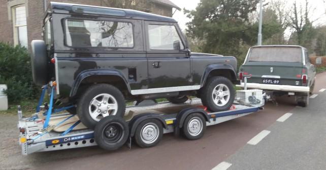 Thuisbrengen van geschorste voertuigen