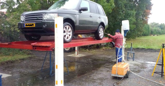 Roestgevoelige punten Range Rover
