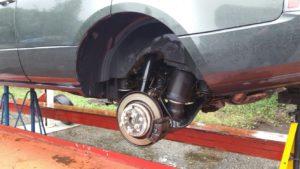 Roestgevoelige punten Range Rover 2005-2012.
