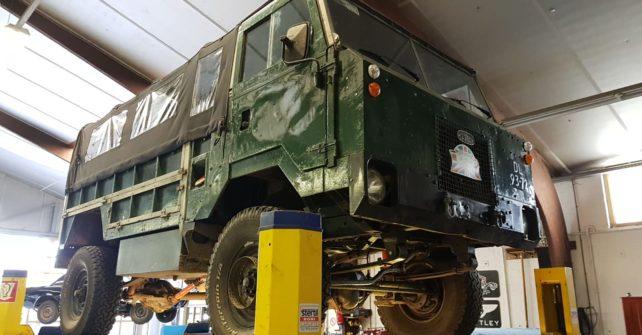Landrover 101 V8 bouwjaar 1970