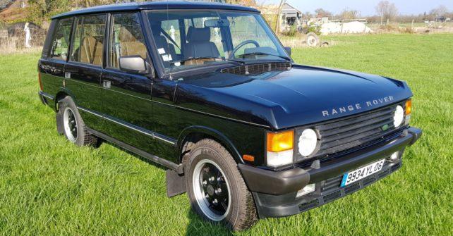Te koop aangeboden zeer unieke Range Rover LSE. km 81.000